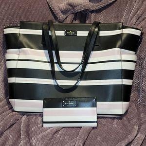 Kate Spade Leather Diaper Bag